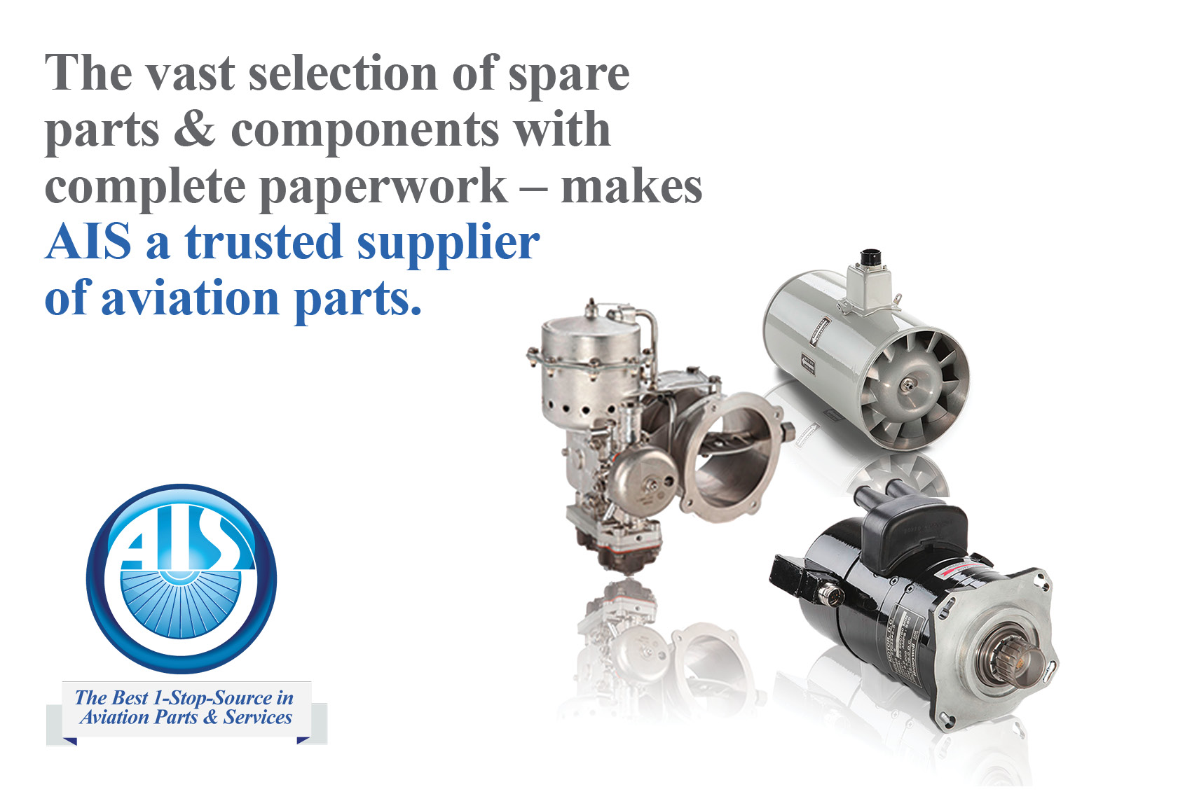 We aim to support aircraft operators and the Global Aviation industry as a whole with cost effective quality OEM Equipment and parts.
